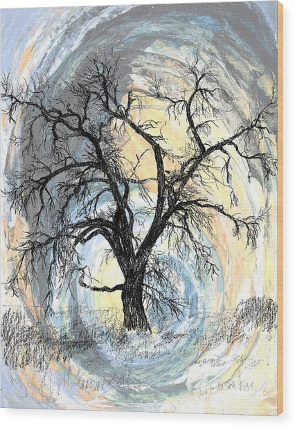Life Force Wood Print by Susan Driver