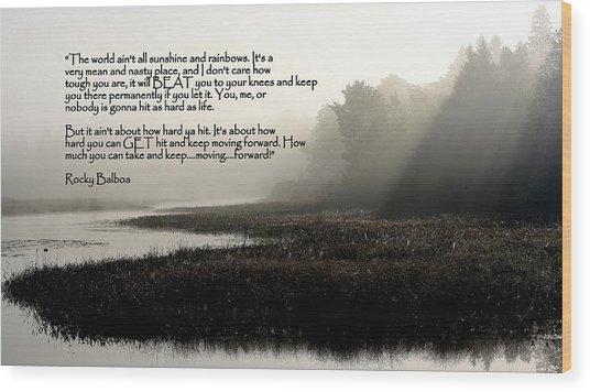 Life Lessons Wood Print