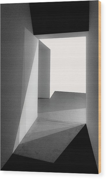 Light And Shadows Wood Print by Inge Schuster