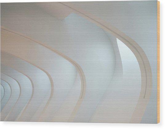 Light Angles Wood Print