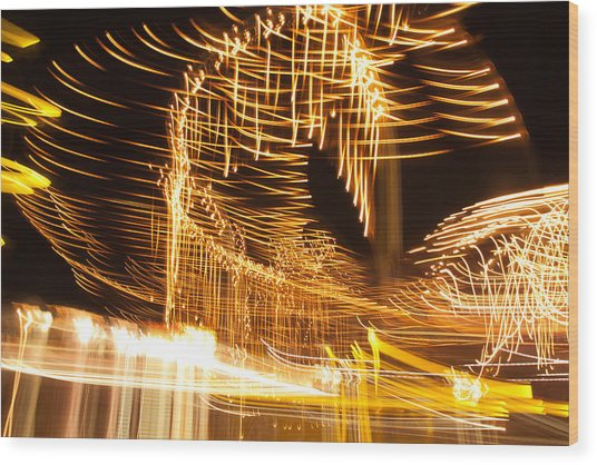 Light Fandango Wood Print