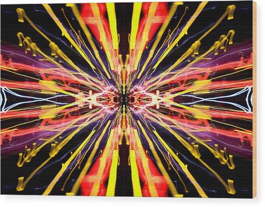 Light Fantastic 22 Wood Print by Natalie Kinnear