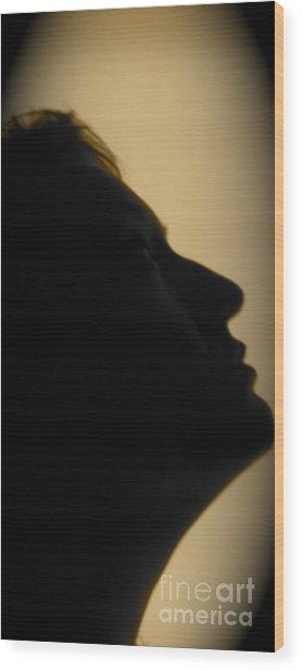 Light Study Sp 2 Wood Print by Ashley Ordines