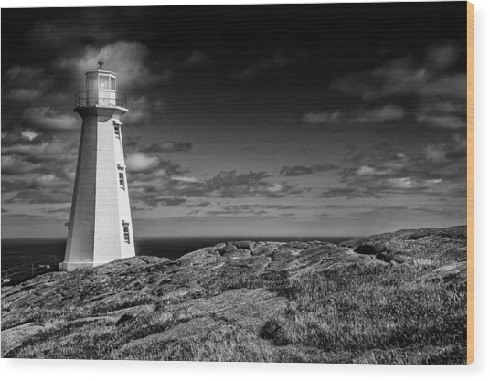 Lighthouse II Wood Print