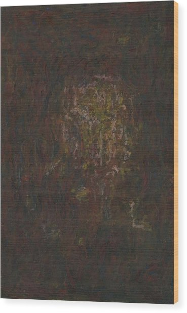 Wood Print featuring the painting Lightpicture 371 by SOBATA Satosi