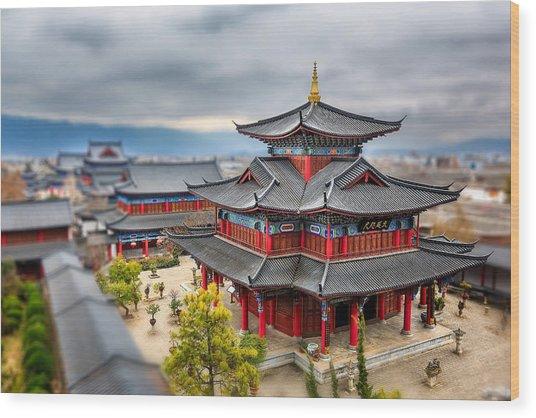 Lijiang, Yunnan, China Wood Print by Kiszon Pascal