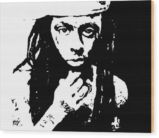 Lil Wayne  Wood Print