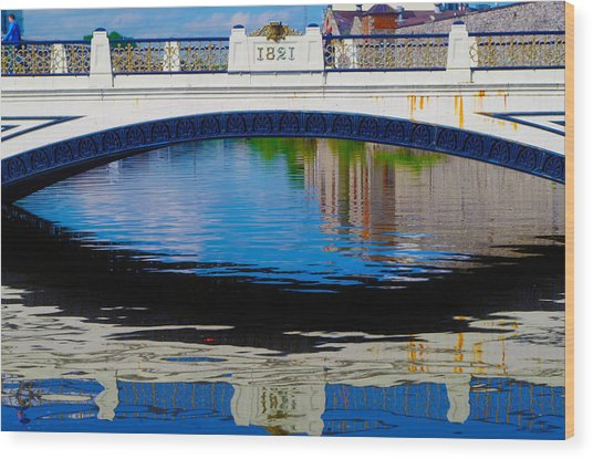 Sean Heuston Dublin Bridge Wood Print