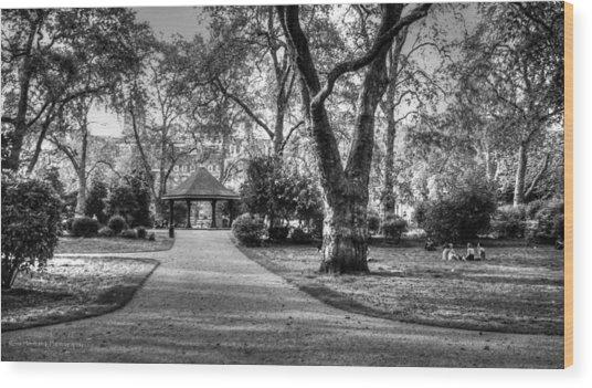 Lincoln's Inn Fields Wood Print