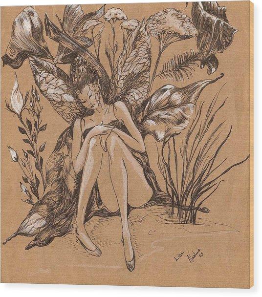 Lisanthius Wood Print