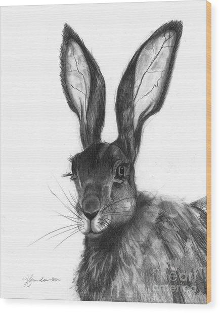 Listening Ears Wood Print by J Ferwerda
