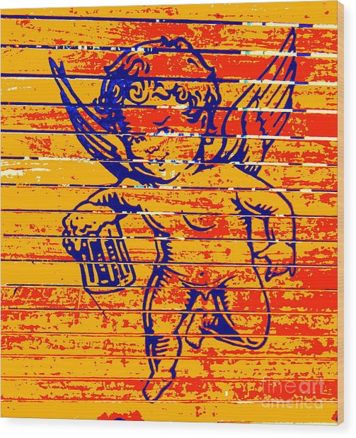 Little Creatures Beer Logo Wood Print