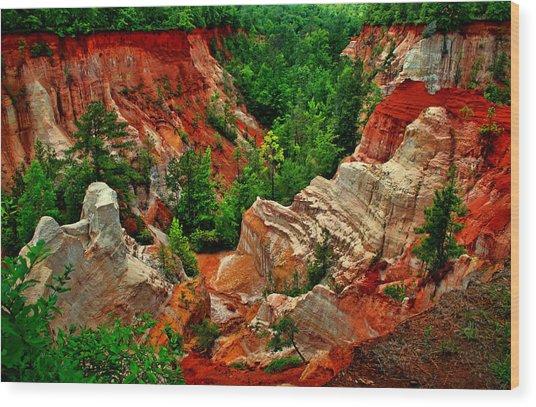 Little Grand Canyon 2 Wood Print