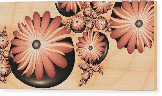 Living Stones Wood Print