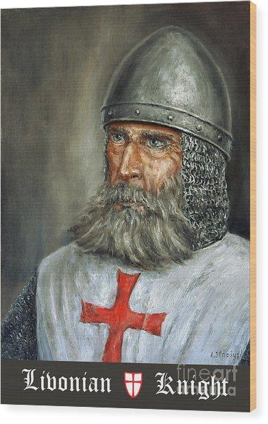 Knight Templar Wood Print