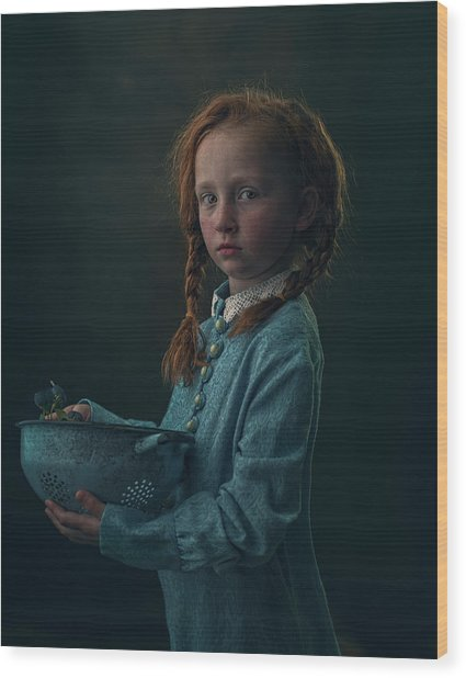 Lizzy Wood Print