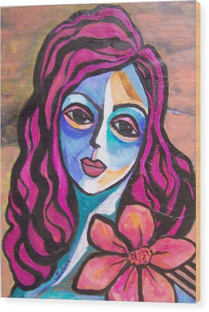 Llima Wood Print
