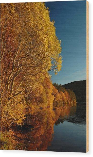 Loch Laide Wood Print