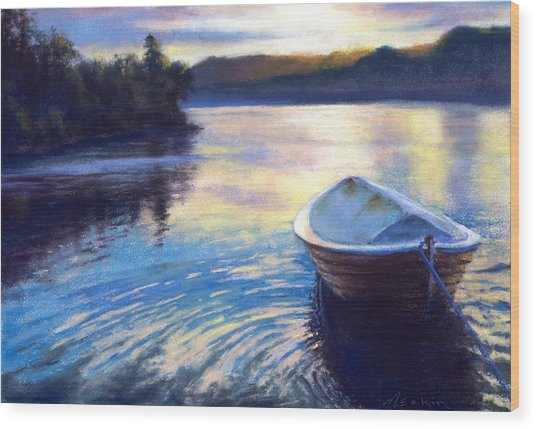 Loch Ness Morning Wood Print