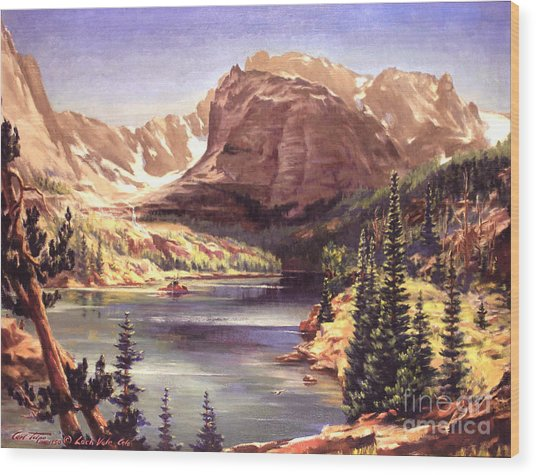 Lock Vale - Colorado Wood Print