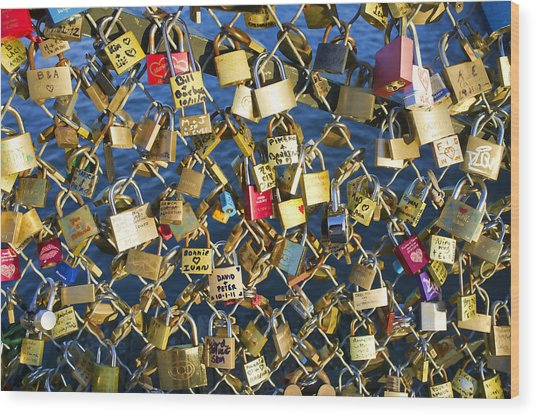 Locks Of Love Wood Print