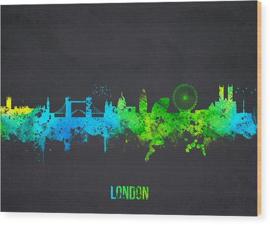 London England Wood Print