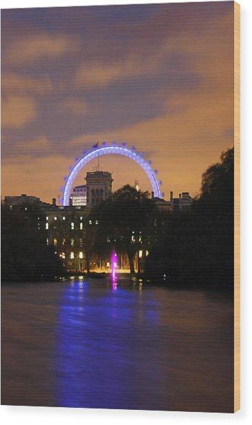 London Eye From St James Wood Print by Dan Davidson