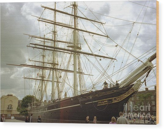 London Greenwich  Wood Print