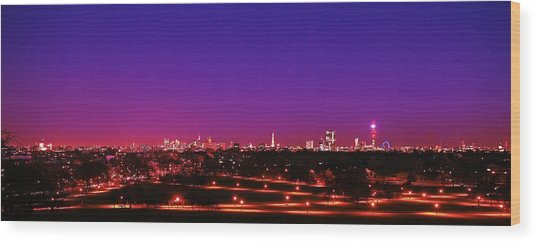 London View 1 Wood Print