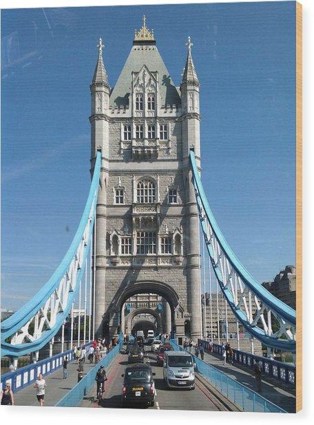 London's Tower Bridge Wood Print