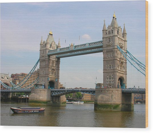 London's Tower Bridge Wood Print