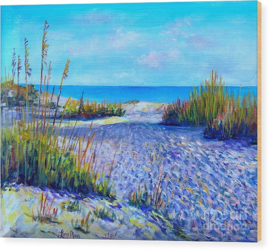 Longboat Key View Wood Print
