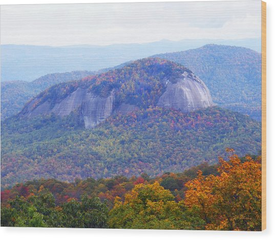 Looking Glass Rock 2 Wood Print
