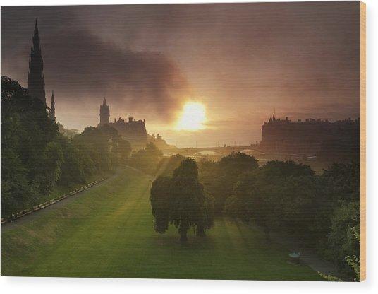 Lord Sun Wood Print