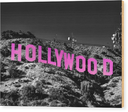 Wood Print featuring the photograph Los Angeles 016 C by Lance Vaughn