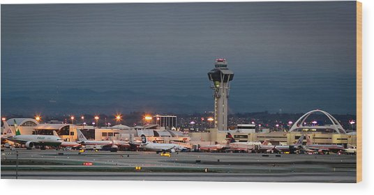 Los Angeles International Airport Wood Print