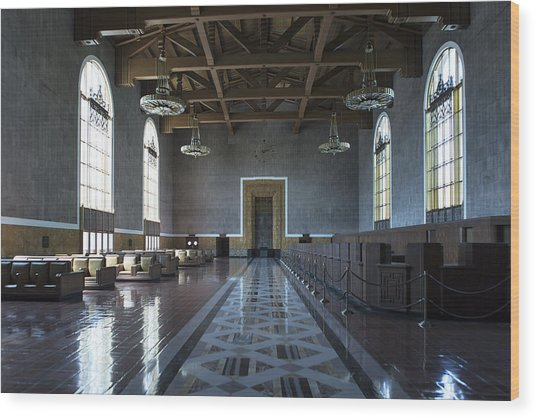 Los Angeles Union Station - Custom Wood Print