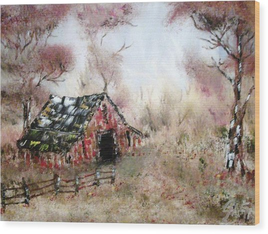 Lost Barn Wood Print