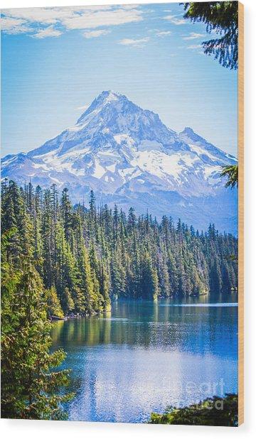 Lost Lake Morning Wood Print