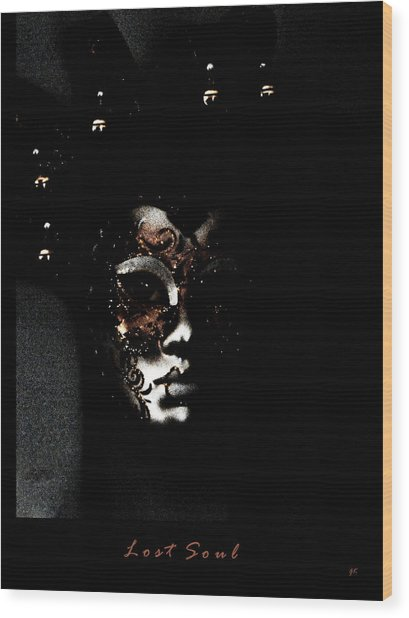 Lost Soul  Wood Print