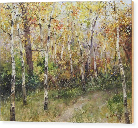 Lost Trail Found Wood Print by Bill Inman