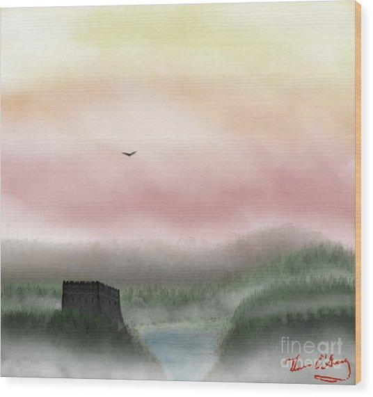 Lost Valley Wood Print