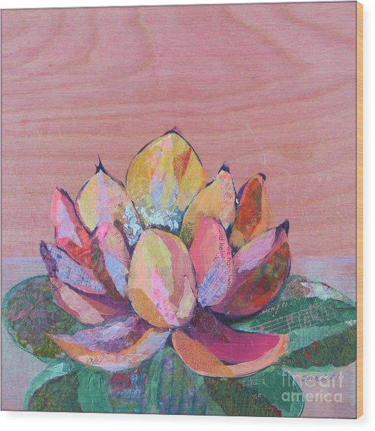 Lotus I Wood Print