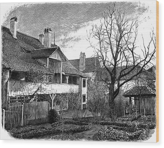 Louis Agassiz's Birthplace Wood Print by Universal History Archive/uig