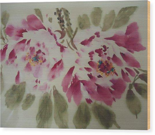 Love 005 Wood Print