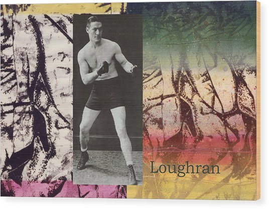 Love And War Loughran Wood Print
