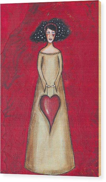 Love Bringer Wood Print