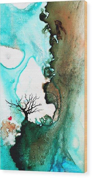 Love Has No Fear - Art By Sharon Cummings Wood Print