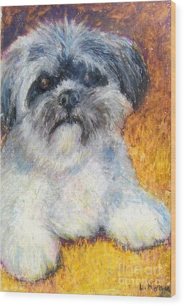 Love My Lhasa Wood Print