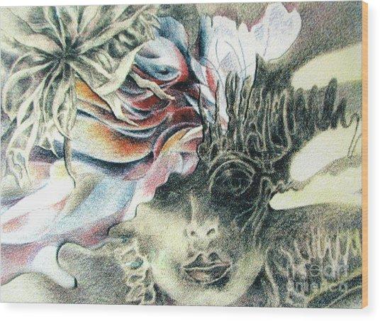 Love To Ramon Wood Print